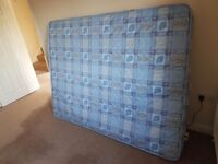 King Size mattress **unused**
