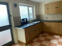 Two bed house fort st rented