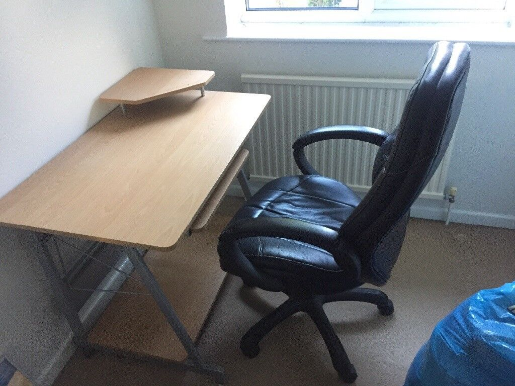 Computer table and chair John Lewis