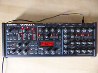 Access Virus C Desktop synth . Excellent condition + Original box + Manual + Power supply