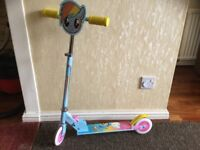 My Little Pony In-Line Anti-Slip Easy Grip Adjustable Scooter