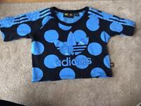 Adidas genuine sports top size uk 12