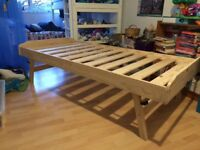 John Lewis pine trundle bed £40. 18 months old , good condition.
