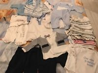 Boundle of Baby boy clothes size 0-3 months