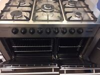DIPLOMAT DUAL FUEL GAS CCOLING RANGE FREE DELIVERY AND WARRANTY