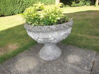 Concrete Urn / planter (medium size)