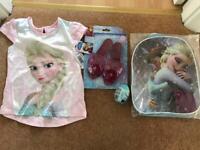 Girls frozen bundle brand new