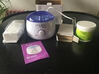 Mylee Wax Heater with accessories