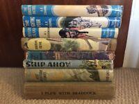 Vintage hardback Adventure books