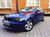 BMW 1 Series 2.0 118d SE 5dr ++ FULL BMW HISTORY++ 2 KEEPERS++RARE COLOUR