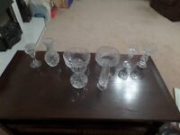 Variety of Tyrone Crystal pieces