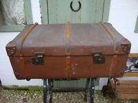 Vintage, Travel/Steamer Trunk,In Super Condition For Age.
