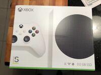 Microsoft Xbox series s brand new boxed still sealed