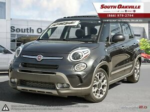 2015 FIAT 500L Trekking | HEATED SEATS | NAVIGATION | PANORAMIC