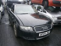 2004 AUDI A4 SPORT CONVERTIBLE 3.0 BREAKING FOR PARTS