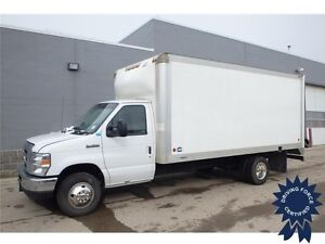 2013 Ford E-450 16 Ft Cube Van Rear Wheel Drive - 59,397 KMs