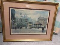 MERRIMAN prints old GLASGOW BRIDGETON limited edition signed-----smoke free home