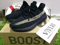 Adidas Yeezy copper Boost 350 V2 Black and green 10