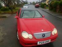 Mercedes c180 2 dr coupe fully loaded