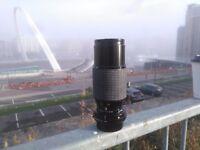 Sigma 70-210mm f4.5 lens