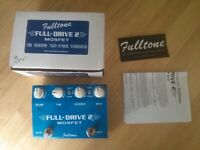 Fulltone Fulldrive II in very good condition