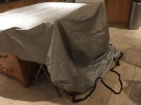 Motorcycle Rain Cover: Oxford Scooter with top box