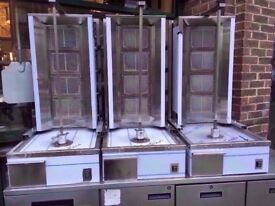 BRAND NEW DONER KEBAB COMMERCIAL SHAWARMA FASTFOOD CATERING GRILL MACHINE TAKEAWAY KITCHEN SHOP