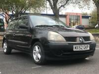 *£675 *XMAS SALE!! RENAULT CLIO 1.2 *5 DR *MOT *LOW MILES *IDEAL 1ST CAR *LOW INSURANCE *PX/DELIVERY