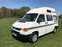 Very Rare Automatic Volkswagen Transporter Campervan 4 berth 2.4 Diesel auto camper VW T4 Low miles