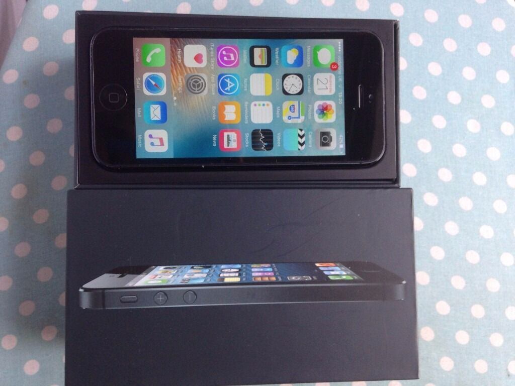 iphone 5 64gb on Voda/lebara with boxin Coventry, West MidlandsGumtree - iphone 5 black 64gb Voda/lebara comes with box, charger, plug temp glass and new cover factory reset for new owner selling price 130 with accessories or 120 without accessories please quote iphone 5 64gb voda when call or sms thanks