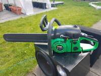 Nutool petrol chainsaw good condition working order