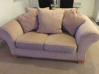 Sofa - 2/3 seater, excellent condition, reverable cushions £150 ono