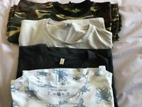 4 men's XL t shirts