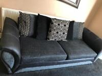 DFS 3,2 seater sofas & cuddle chair