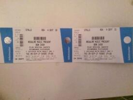 Bon iver tickets - Edinburgh- thurs 28/09/17