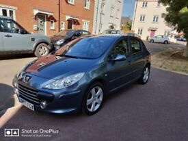 Peugeot 307 Sport 2007 Low Miles, new clutch, Full leather int, Dual zone climate, cruise control