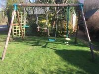 3piece children's garden swings set