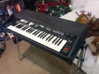 Retro 1970's electric piano