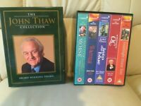 *** FREE... V.H.S. BOX SET... THE JOHN THAW COLLECTION... AS NEW ***