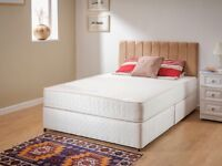 Brand new double bed with orthopedic mattress