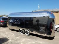 Airstream Mobile Catering Trailer Burger Van Pizza Trailer 5500x2000x2300