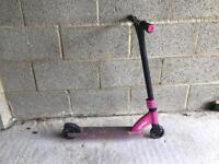 Pink Stunt Scooter