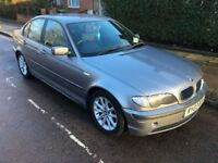 BMW 3 series 320D E46 150BHP, 2003, mileage 170k, GOOD CONDITION, SILVER GREY, PART. SERVICE HISTORY