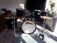TIGER JDS14-BK 5 piece junior drum kit - NEW IN BOX