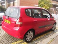HONDA JAZZ 1.3 *** FULLY AUTOMATIC *** FACE LIFT MODEL 55 REG *** £1495 ONLY *** 5 DOOR HATCHBACK