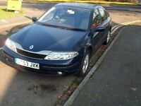 2004MY Renault Laguna 1.8 Expression- 1 owner from new - ONLY 79K Miles- Long MOT