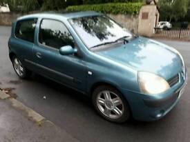 2004 RENAULT CLIO 1.5 DCI £20 tax MOT 10 MONTHS EXCELLENT DRIVER