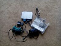 Playstation 1 Games Console & 2 Controllers