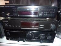 Kenwood Stereo System Three Items Sold as a Set - Collect from Newcastle Upon Tyne NE15 area only