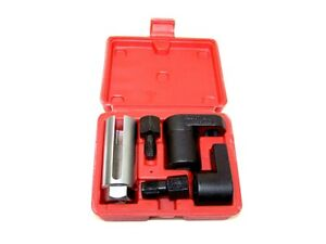 5 pc Oxygen Sensor Socket Vacuum Wrench O2 M12 M18 Tool Renew Thread Chaser set